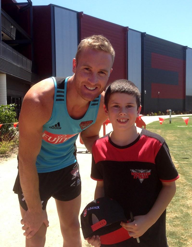 Jason Winderlich with Brad