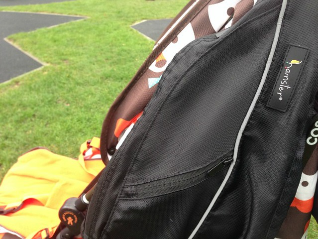Hamster Buggy Bag side view