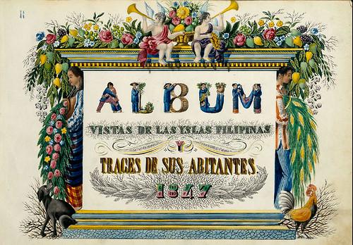 001-Portada-Vistas de las Yslas Filipins y Trages…1847-J.H. Lozano- Biblioteca Digital Hispánica