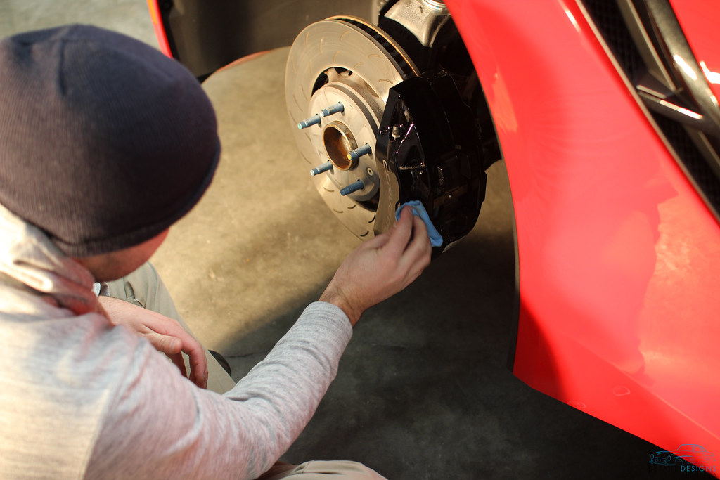 Stingray Wheel Off Detail and cQuartz Finest Application