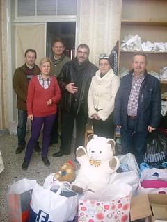 σύλλογος ηπειρωτών κοζάνης επισκέψεις στο Τιάλειο Εκκλησιαστικό Γηροκομείο και  Μαγαζάκι Κοινωνικής Αλληλεγγύης