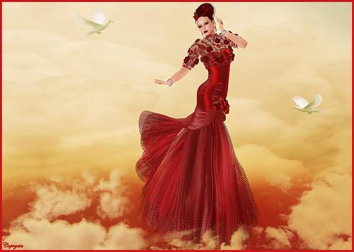 KV SIM - Valentine's Day Haute Couture - A la Folie by ♥Caprycia♥