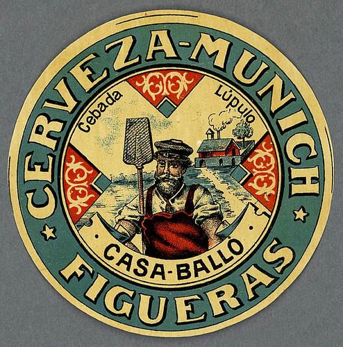 018- Etiquetas de bebidas. Figuras y retratos de hombres -1890 - 1920 - Biblioteca Digital Hispánica