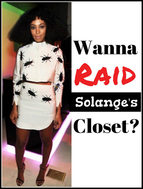 Solange's Fashion - Wanna Raid Her Closet? #fblchat