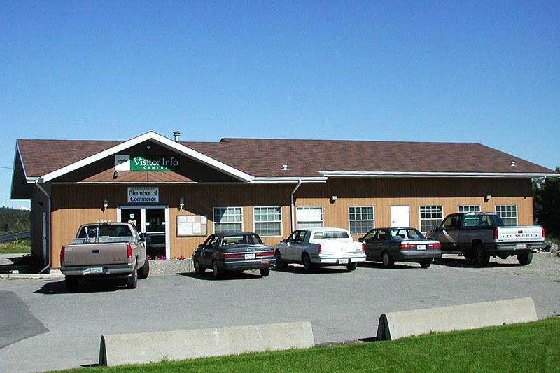 Visitor Centre, Cranbrook, Columbia Valley, Kootenay Rockies, British Columbia, Canada