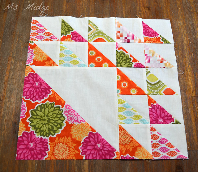 Aurifil Designer Block of the month - February