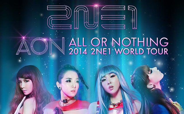 Konsert 2NE1 World Tour All Or Nothing Live in Malaysia