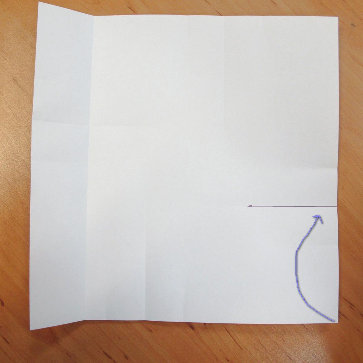 สอนการพับกระดาษเป็นที่ใส่ของรูปกลีบกุหลาบ (Rose box origami) 018