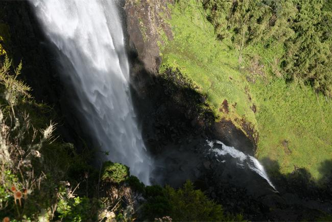 Aberdares Karuru Falls