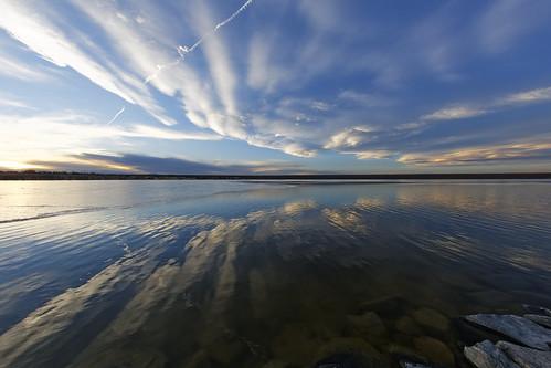 sunset usa reflection clouds colorado aurora stillwater allrightsreserved cherrycreekstatepark defished ef15mmf28fisheye canon5dmkiii copyright2014davidcstephens z5a7950dxo