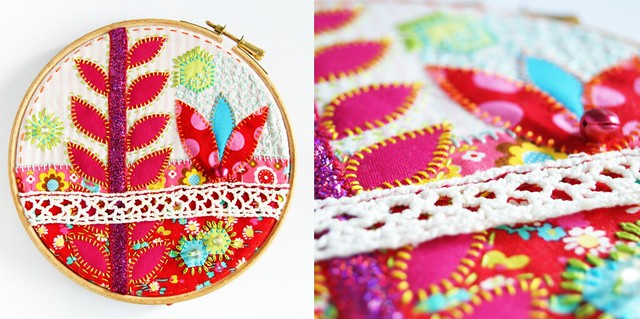 Appliqué and colours