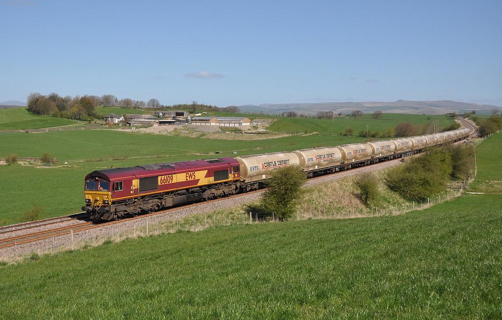 66109 4M00 Mossend-Clitheroe, Middle Breaks Gisburn 18.04.2014 (2)