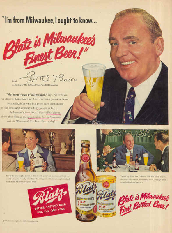 1949-Blatz-is-Milwaukees-Finest-Beer-Pat-OBrien