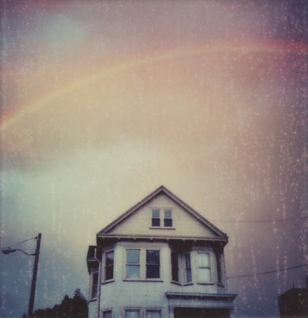 Potrero Hill Sunset Rainbow, Speckled