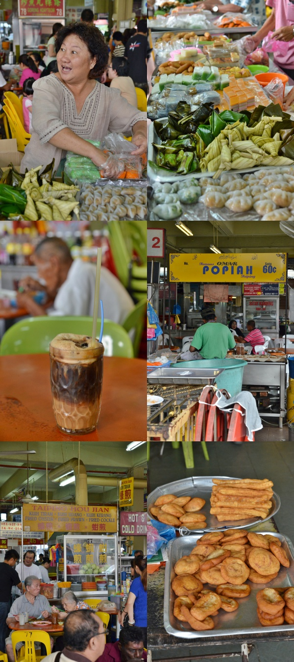 Various Street Food from Larut Matang Food Court
