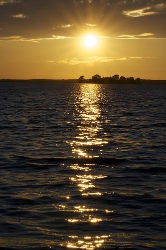 sunset sonnenuntergang steinhude wilhelmstein steinhudermeer 100er d5100