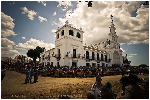Ermita del Rocio Sabado de Pentecostes