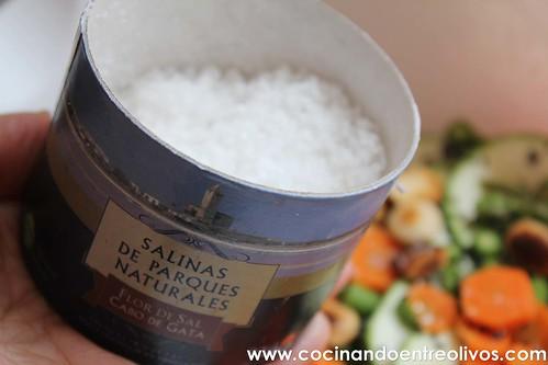Ensalada de calabacín, espárragos y zanahoria www.cocinandoentreolivos (9)