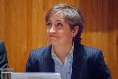Carmen Aristegui recibe el galardón 'Corazón de León' ③
