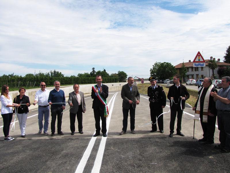 Aperto al traffico il sottopasso ferroviario di Via Casanola a Castel Bolognese