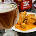 Ice Cold Beer w/ Spicy Ranch WIngs by sheryip