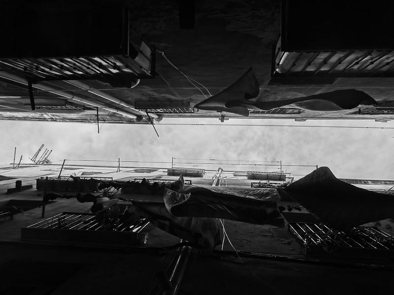 Hanging laundry, Castello, Cagliari.