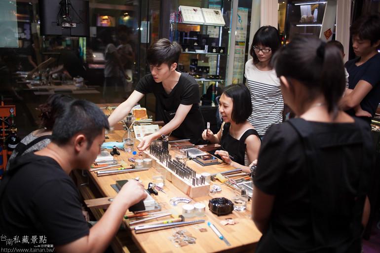 台南私藏景點--小安的店DIY銀飾 (1)