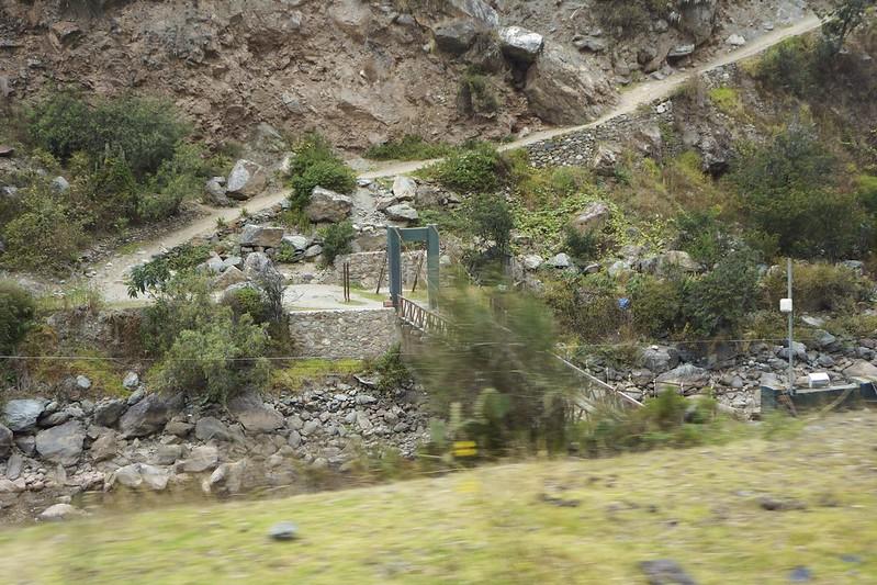 train to Aguas Calientes 20