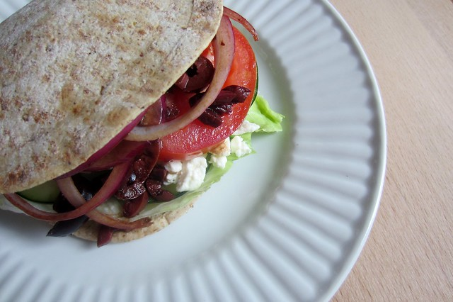 52 sandwiches no. 35: Greek salad