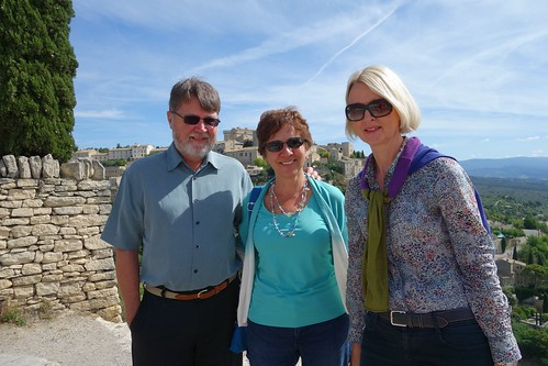 Enjoying our tour with Sarah - Discover Provence