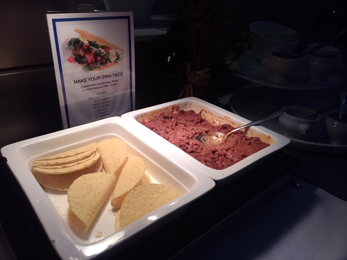 Make Your Own Taco at the United Club HK