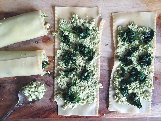 Green Lasagna Rolls | Isa Chandra Moskowitz