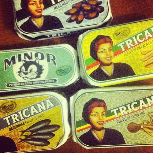 #portugal haul. Think I'll go w some smoked mackerel tonight. #wishidboughtmore