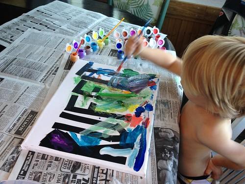 Ruffit Painting
