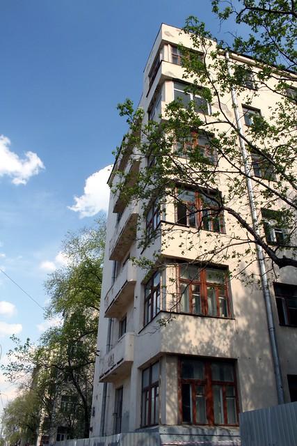 Общежитие Института красной профессуры