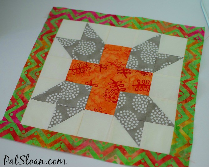 Pat Sloan 2014 aurifil july