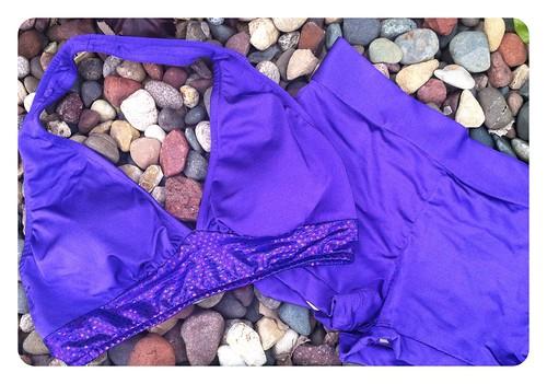 Purple Swimsuit