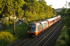 Hectorrail 242 502 durchführt Gevelsberg