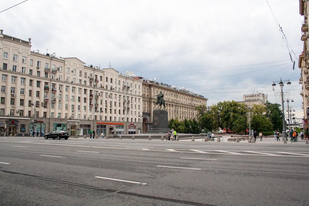 Москва. Центр. Памятник Юрию Долгорукому