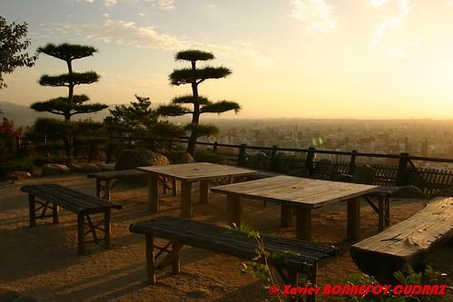 sunset shikoku matsuyama japonle