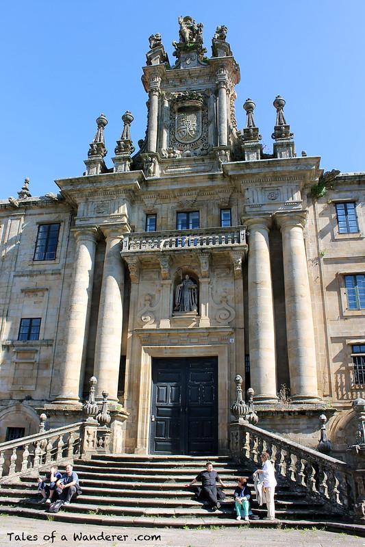 SANTIAGO DE COMPOSTELA - Praza da Inmaculada - Mosteiro de San Martiño Pinario
