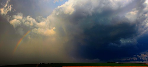 070914 - Industrial Light & Nebraska Thunderstorm Magic! (Pano)