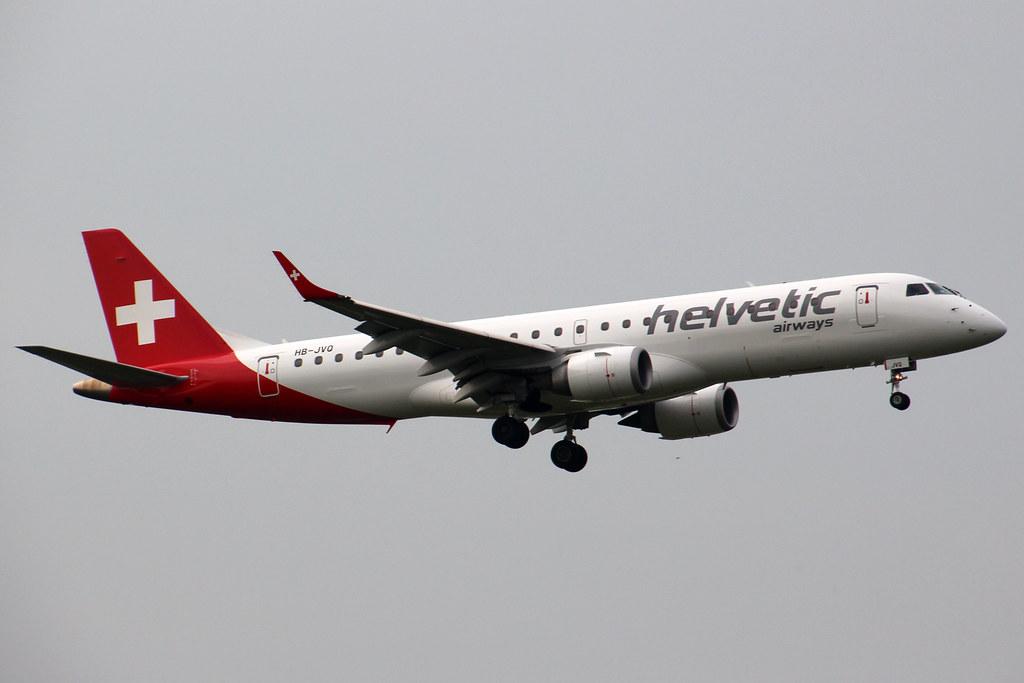 HB-JVQ - E190 - Helvetic Airways
