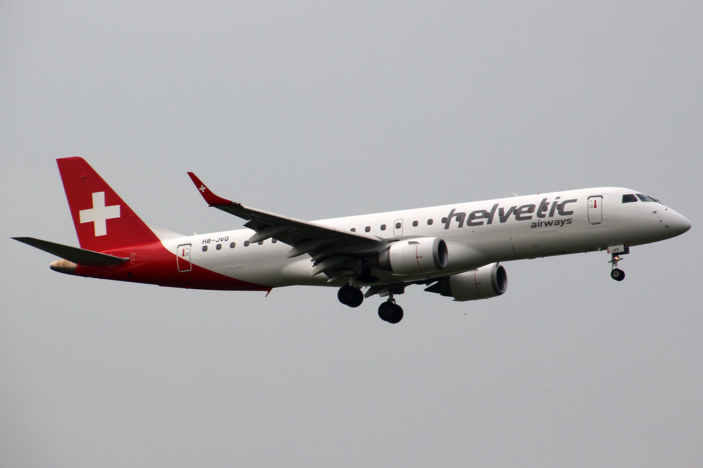 HB-JVQ - E190 - Swiss