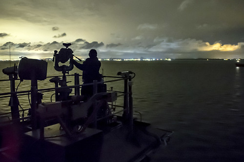 STRAIT OF MALACCA (NNS) -- The Essex Amphibious Ready Group (ARG) navigated through the Strait of Malacca, while transiting toward the 5th Fleet area of responsibility (AOR) in support of maritime security operations.