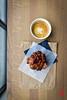 Aronia Berry and Kelp Pastry