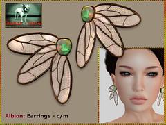 Bliensen - Albion - Earrings