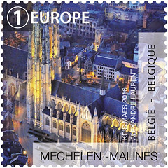 11 La Belgique vue du ciel timbre D