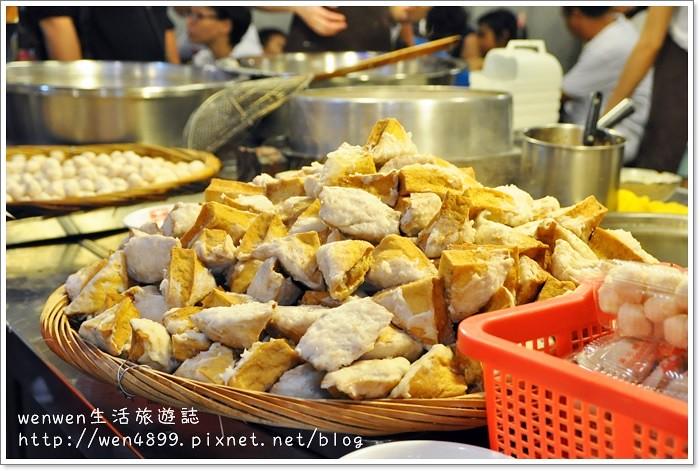 【九份美食】魚丸伯仔~魚丸湯、豆干包、乾冬粉都好吃