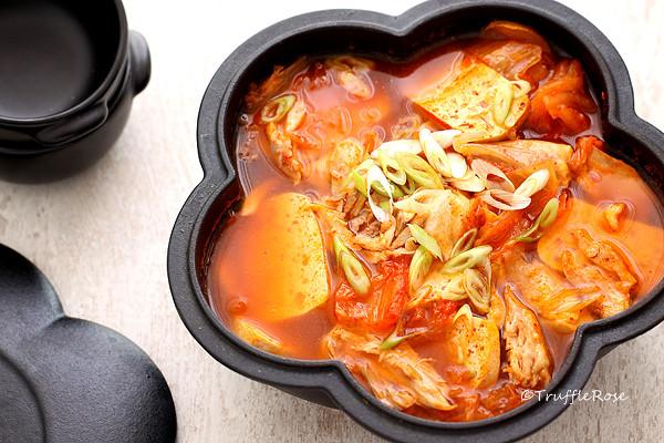 韓式泡菜豆腐燉雞-20161103